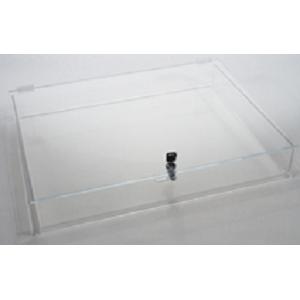 Locking Countertop Acrylic Display Stylish Jewelry Case