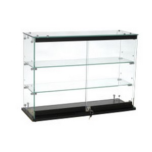 Locking Glass Countertop Showcase