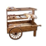 Low Profile Bakery Cart