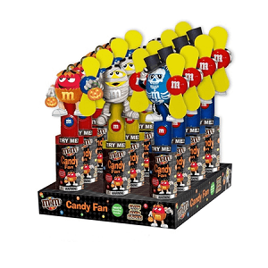 M&M Halloween Fans - 12ct