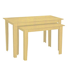 Maple Nesting Tables