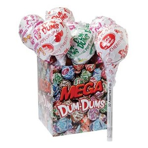 Dum-Dum Mega Pops - 100 Lollipops