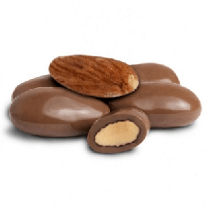 Milk Chocolate Amaretto Almonds - 25lbs
