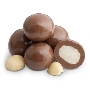 Milk Chocolate Macadamia Nuts - 20lbs