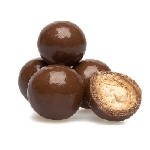 Milk Chocolate Peanut Butter Malt Balls - 20lbs