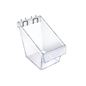 Mini Slatwall Display Bucket - 4ct