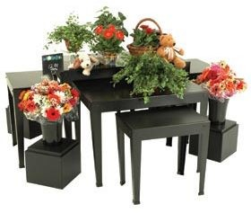Nesting Table Island Display