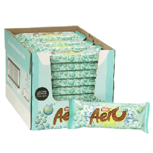 Nestle Mint Aero Bar - 36ct