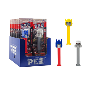 Pez Transformers Blister Pack - 6ct
