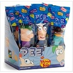 Phineas & Ferb Assorted Pez Dispensers  - 12ct