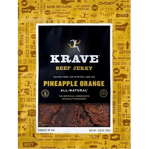 Pineapple Orange Beef Jerky - 3.25oz. - 8ct