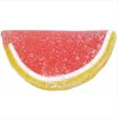 Pink Grapefruit Jelly Fruit Slices - 10lbs