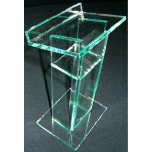 Standard Glass Color Podium - Green Tint