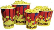 Popcorn Tubs- 85 ounce - 50ct