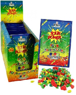 Popping Candy Sour Quattro - 18ct
