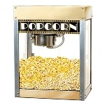 Premiere Popcorn Machine- 6 Ounce Kettle