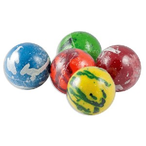 "Psychedelic Jawbreakers - 3 3/8""- Wrapped - 6ct"