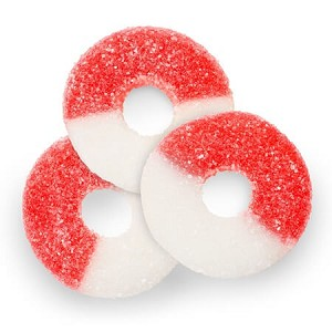 Red Cherry Gummi Rings - 4.5lbs