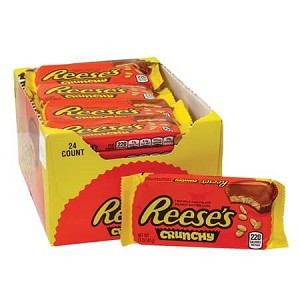 Reese's Crunchy Peanut Butter Cup - 24ct