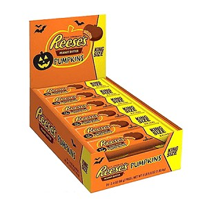 Reeses Peanut Butter Cup Pumpkins - King Sized - 24ct