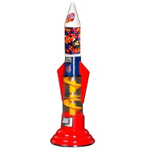Rocket Spiro Gumball Machine
