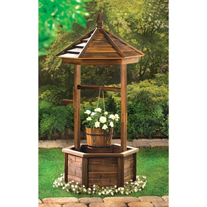 Rustic Well Planter