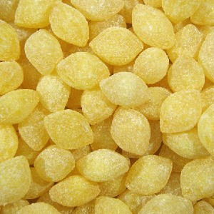 Yellow Sanded Lemon Drops - 25lbs