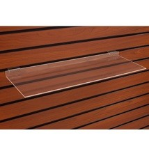 Acrylic Slatwall Shelf - 24 in. W