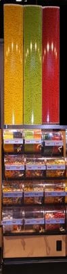 Queen-Sized Premium Candy Display Rack - 2 Foot