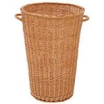 Small Round Willow Basket