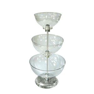 Small Three-Tier Bowl Counter Display