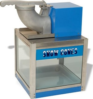 The Snowbank Snowcone Machine