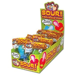 Sour Pacifier Pops  - 12ct