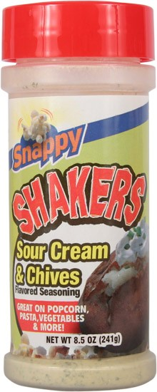 Sour Cream & Chives Seasoning Shakers - 8.5oz - 12ct