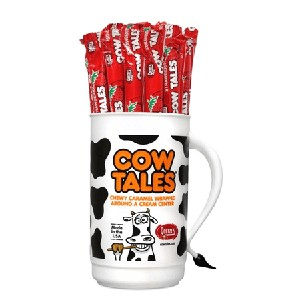 Strawberry Cow Tales  - 100ct - In A Tumbler Display