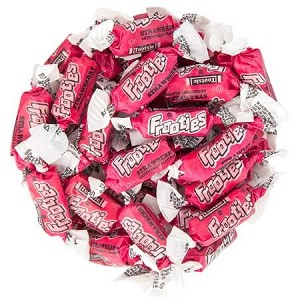 Strawberry Tootsie Roll Frooties - 360ct bag