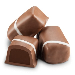 Sugar Fee Milk Chocolate Mint Meltaways - 10lbs