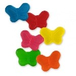 Sugar Free Mini Gummi Butterflies - 10lbs