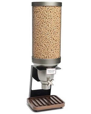 XL Dispenser w/Walnut Tray - 3.5 Gallon