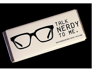 Talk Nerdy Chocolate Bars  - 24ct