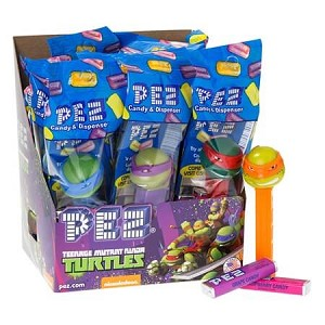 TMNT Assorted PEZ Dispensers  - 12ct