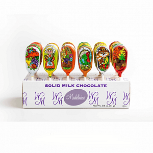 Thanksgiving Milk Chocolate Pops - 36ct