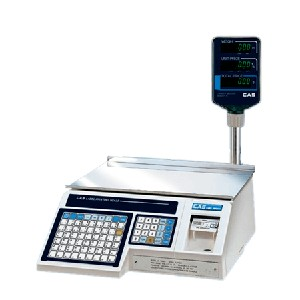 Thermal Label Printing Scale - With VFD Read Out Pole