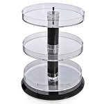 Three Tier Open Round Tray - No Dividers