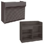 Ledgetop Counter With Slatwall Front 72