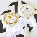 Metallic Foil Baby Lollipops - 24ct
