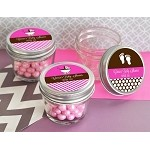 Traditional Baby Shower Glass Mason Jars - 24ct