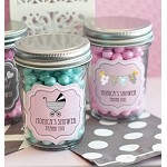 Traditional Baby Mini Glass Mason Jars - 24ct
