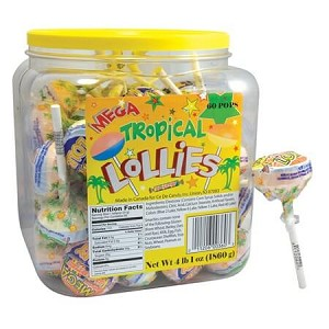 Tropical Mega Double Lolly - 60ct