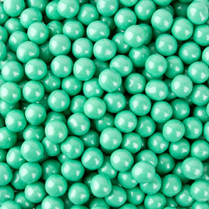 Turquoise Shimmer Sixlets - 12lbs